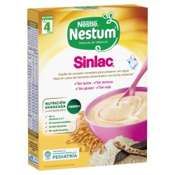 NESTLE Nestum Sinlac Papilla de Cereales Sin Lactosa 250gr