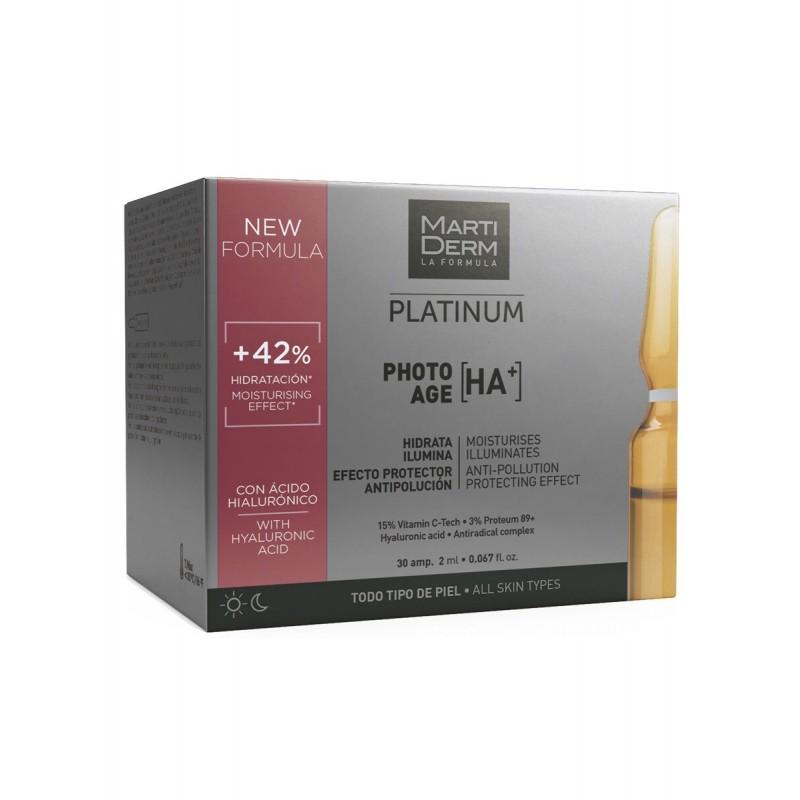 MARTIDERM Platinum Photo Age HA+ 30 ampollas