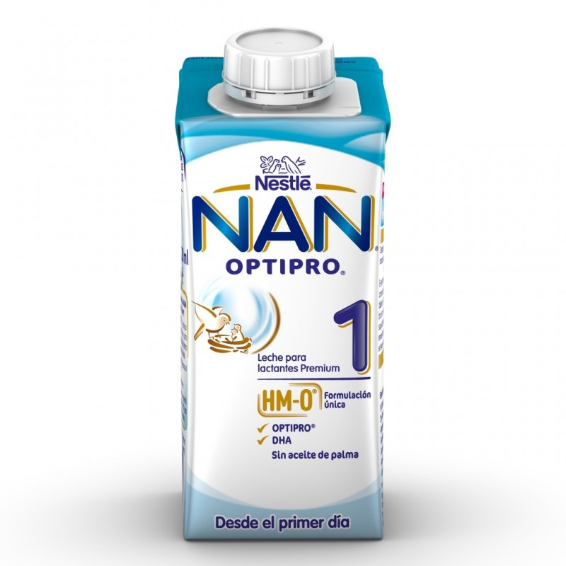 NAN Optipro 1 Leche Líquida para Lactantes 200ml