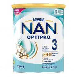 NAN OPTIPRO 3 Leche de Crecimiento para Lactantes 800g