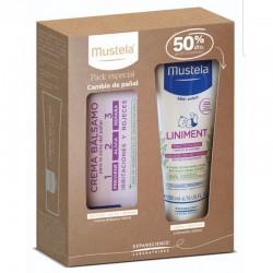 MUSTELA Pack Cambio Pañal Linimento 200ml + Crema Bálsamo 150ml