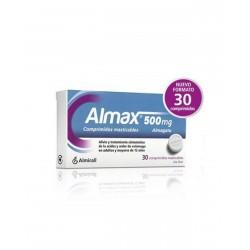 ALMAX 500MG 30 Comprimidos Masticables