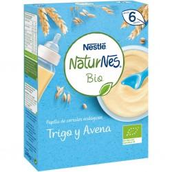 NESTLÉ Naturnes Bio Papillas de Trigo y Avena 240g