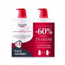 EUCERIN pH5 Duplo Loción Enriquecida Piel Sensible Muy Seca 2x1000ml