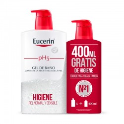 EUCERIN pH5 Gel de Baño Piel Seca y Sensible 1L + 400ml GRATIS
