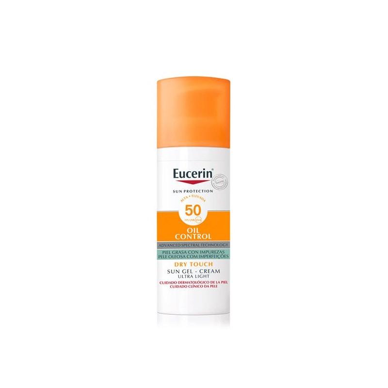 EUCERIN Sun Gel-Creme Oil Control Dry Touch PFS50+ 50ml