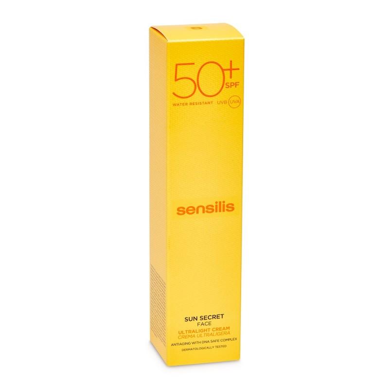 SENSILIS Sun Secret Crema Solar Fluida Antiedad SPF50+ 40ml