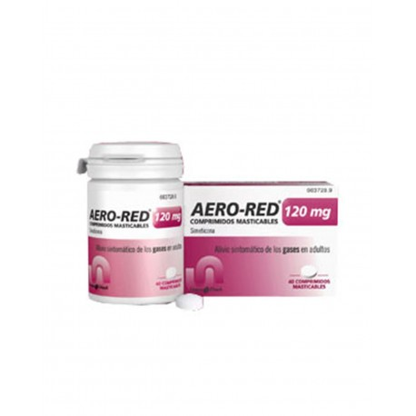 AERO RED 120MG 40 Comprimidos Masticables