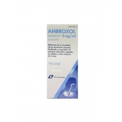 AMBROXOL SANDOZ 3MG/ML Jarabe 125ML