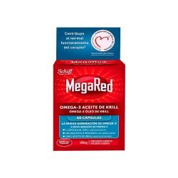 MEGARED Omega-3 Aceite de Krill 60 Cápsulas