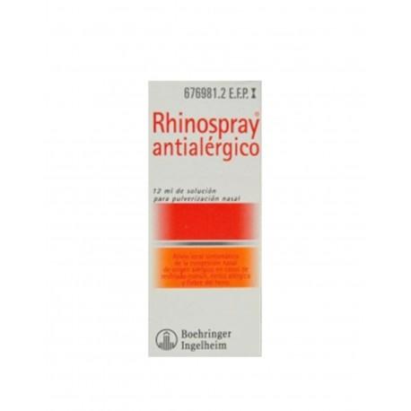 RHINOSPRAY Antialérgico Nebulizador Nasal 12ML