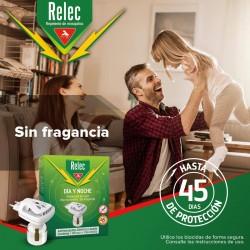RELEC Día y Noche Difusor Antimosquitos Eléctrico + 1 Recambio