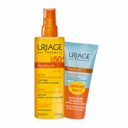 URIAGE Bariésun Spray SPF50+ 200ml + Aftersun 50ml de REGALO