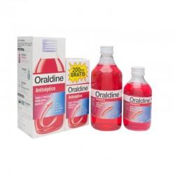 ORALDINE Antiséptico Pack 400ml + 200ml GRATIS