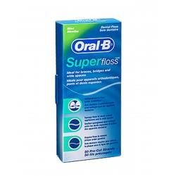 ORAL-B Superfloss Seda Dental Sin Cera