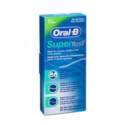 ORAL-B Superfloss Seda Dental Sin Cera
