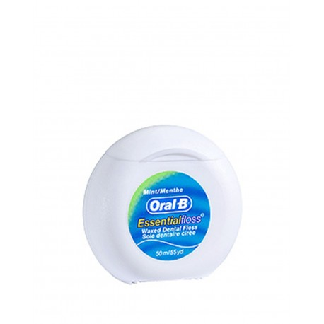 ORAL-B Essential Floss Seda Dental con Cera y Menta