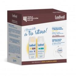 LADIVAL Pack Protección y Bronceado SPF 50 + Hidratante de Verano