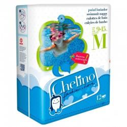 CHELINO Pañal Bañador Talla M (de 9 a 15kg) 12 Unidades