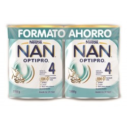 NAN OPTIPRO 4 Leche de Crecimiento DUPLO 2x800g