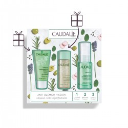 CAUDALIE Pack Vinopure Sérum Anti-Imperfecciones 30ml + Tónico Purificante 50ml + Gelatina Purificante 30ml