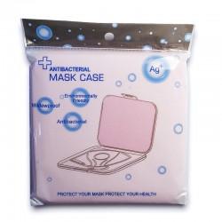 Caja Porta Mascarillas Antibacteriana Rosa