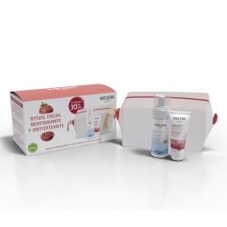 """WELEDA """"Reafirmante Antioxidante"""" Crema de Día Reafirmante de Granada + Espuma Limpiadora + Neceser de REGALO"""