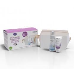 """WELEDA """"Hidratación Intensiva"""" Fluido Hidratante de Iris + Espuma Limpiadora + Neceser de REGALO"""