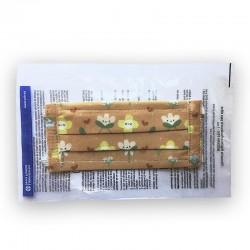 Mascarilla Higiénica Lavable y Reutilizable ST02 Niños (Flores)