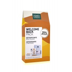 MARTIDERM Pack Welcome Back Detoxificante+Antioxidante