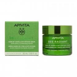 APIVITA Bee Radiant Gel-Crema Signos de la Edad & Antifatiga Textura Rica 50ml