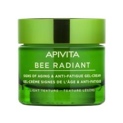 APIVITA Bee Radiant Gel-Crema Signos de la Edad & Antifatiga Textura Ligera 50ml