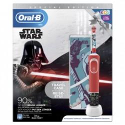 ORAL-B Cepillo Eléctrico Kids Star Wars + Funda de Viaje