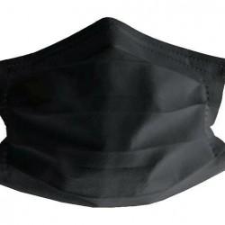 Mascarilla Higiénica Lavable y Reutilizable ST02 Adulto (Negra)