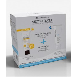 NEOSTRATA Pack Refine SaliZinc Gel + Heliocare 360º Gel Oil-Free