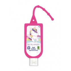 Gel Higienizante de Manos AIR-VAL 60ml Unicornio + Portagel