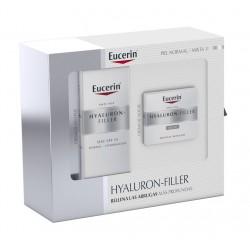 EUCERIN Cofre Hyaluron-Filler Piel Normal: Crema de Día SPF 15 + Crema de Noche