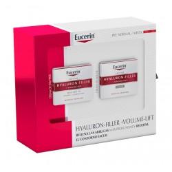 EUCERIN Cofre Hyaluron-Filler+Volume-Lift Piel Normal: Crema de Día SPF 15 + Crema de Noche