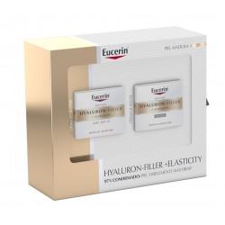EUCERIN Cofre Hyaluron-Filler+Elasticity: Crema de Día SPF 15 + Crema de Noche