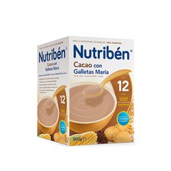 NUTRIBÉN Cacao con Galleta Maria 300G