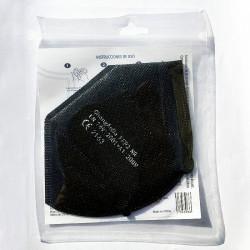Mascarilla FFP2 Desechable Negra NR 5 Capas BFE 95% 1 unidad - PROMASK -