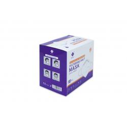 20x MASCARILLAS FFP3 Alta Eficacia de Filtración 99% NR 5 Capas MEIRU