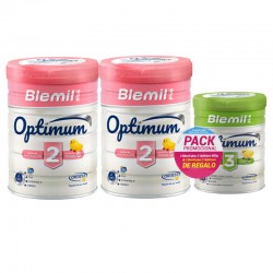 BLEMIL Pack plus Optimum 2 Leche de Continuación 2x800gr + Optimum 3 400gr