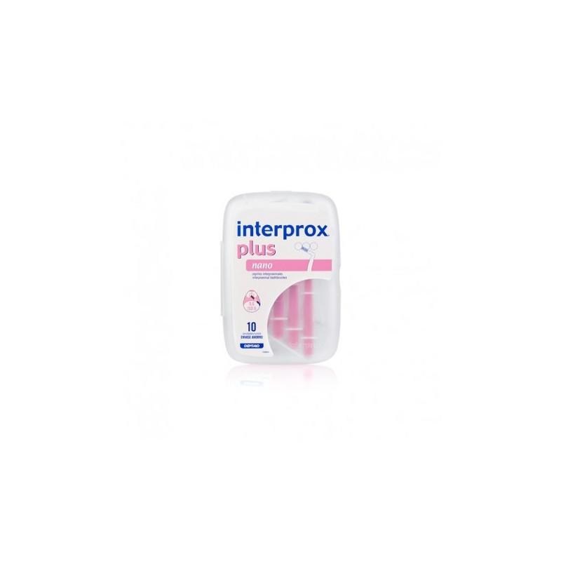 INTERPROX PLUS Cepillo Interproximal Nano 0.6 x10