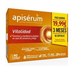 APISÉRUM Vitalidad Pack Ahorro 90 Cápsulas Blandas