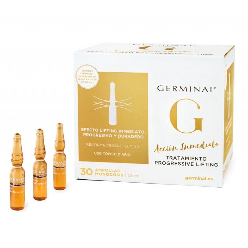 GERMINAL Acción Inmediata Tratamiento Progresivo Lifting 30 Ampollas