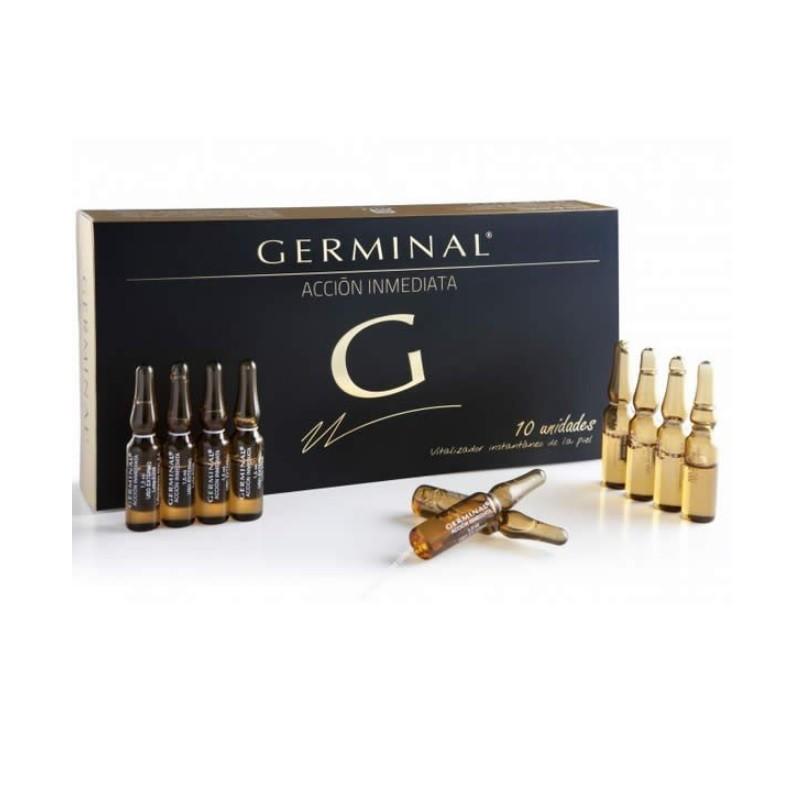 GERMINAL Acción Inmediata Efecto Flash 10 ampollas 1.5ml