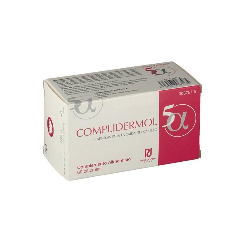 COMPLIDERMOL 5 Alfa Anticaída 60 Cápsulas
