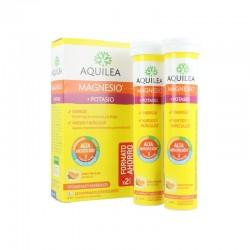 AQUILEA Magnesio + Potasio Sabor Naranja 28 Comprimidos Efervescentes