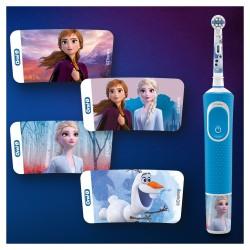 ORAL-B Cepillo Eléctrico Kids Frozen + Funda de Viaje de REGALO